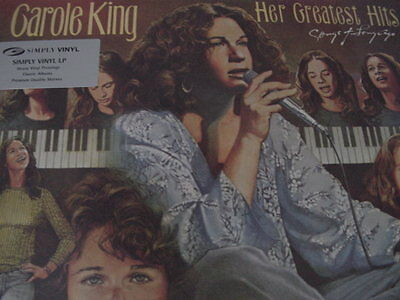 CAROLE KING HER GREATEST HITS 160 GRAM RARE UK PRESSED OUT OF PRINT Sealed LP