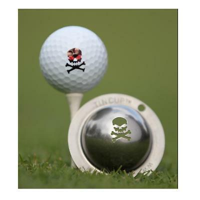 Tin Cup Golf Ball Marking System (Jolly Roger)