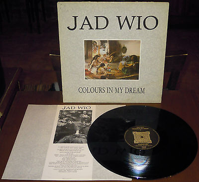 LP JAD WIO Colours in my dream (L'Invitation Au Suicide 85 FRANCE)dark gothic EX