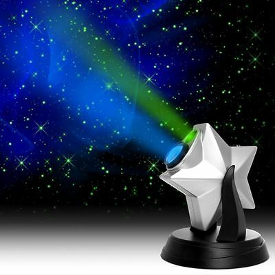 Newest 2016 Laser Light Show Projector Stars with Night Effect and Blue Cloud