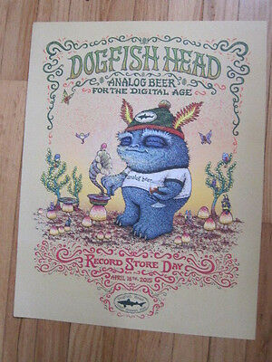 DOGFISH HEAD Record Store Day poster 14x18