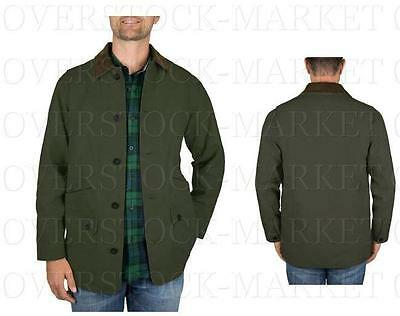 New Mens Orvis Classic Collection Canvas Quilted Lined Barn Jacket! Variety!