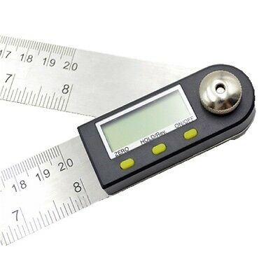2 In 1 Digital Ruler Protractor 360 Degree Electronic 200mm Angle Finder