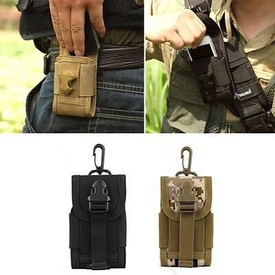 Cell Phone Pouch Sports Bag Outdoor Tactical Waist Pouch for iphone smartphone
