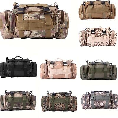 Tactical Large Capacity Outdoor Loaded Multifunction Bag Bait Box Fishing Pocket