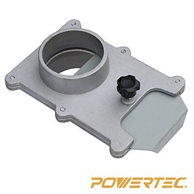 POWERTEC 70134 2-1/2-Inch Aluminum Blast Gate for Vacuum/Dust Collector New