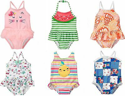 Gymboree Baby Girl Swimsuit 0 3 6 12 18 24 2T 3T NWT 1 Piece UPF 50+