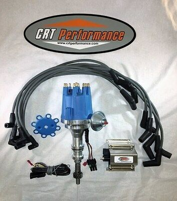 FORD 351C//M 429 460 HEI DISTRIBUTOR BLUE SPARK PLUG WIRES MADE IN USA
