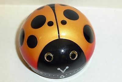Sarut Lady Bug Collectible 60 minute timer Kitchen or time out kids