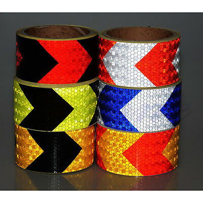 "2""X118"" 3M Night Reflective Types Safety Warning Conspicuity Tape Strip Sticker"