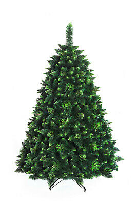 Christmas Tree Luxury New Boxed Traditional Green with cones - OLIVE PINE 180cm
