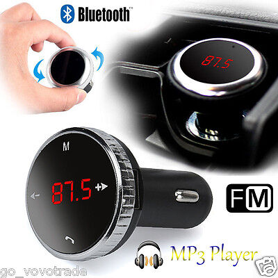 Wireless Bluetooth LCD FM Transmitter Modulator Car Kit MP3 Player SD with Mic