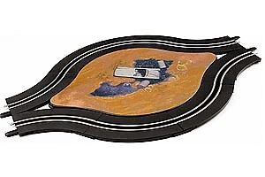 61648 CARRERA SINGLE LANE TRACK WITH DECO (8) for GO!!! SLOT CAR SYSTEM 1/43