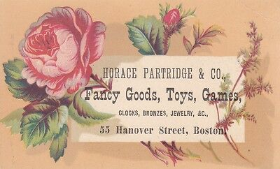 Horace Partridge & Co, Fancy Goods, Toys, Games - Boston, MA