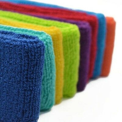 Colorful Cotton Womens Mens Sport Sweat Sweatband Yoga Gym Stretch Head Band