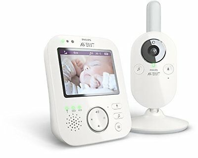 Philips AVENT SCD630/37 Video Baby Monitor - Automatic Infrared Night Vision