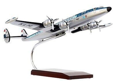 KLM Lockheed L-1049 Super Constellation Desk Top Display 1/72 Model AM Airplane