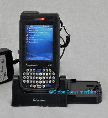 Intermec CN3 Mobile Computer 1D/2D PDA Barcode Scanner WiFi +CRADLE +Warranty