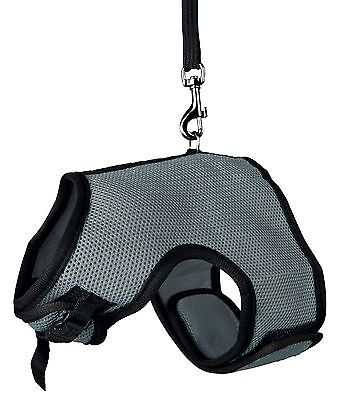 Trixie Soft Large Rabbit Harness And Lead Set 61514 Mesh