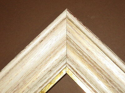 25 Off White Distressed Rustic Scoop Picture Frame Panoramic Size