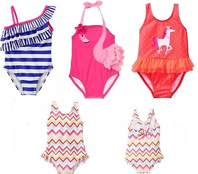 Gymboree Girl Swimsuit 6 12 18 24 Mos  2T 3T 4T 5T NWT 1 Piece UPF 50+ Retail