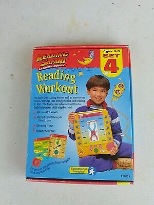 Reading Safari Learning Module reading workout set 4  Educational Insights