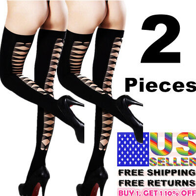 New Hosiery Socks Tights Plus Size Women Stockings Nylon Hold Up Sheer Pantyhose