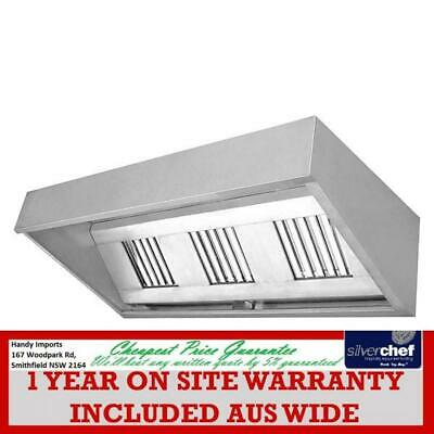Fed Commercial Canopy Range Hood Rangehood Air Filtration Foodtruck Chood1200
