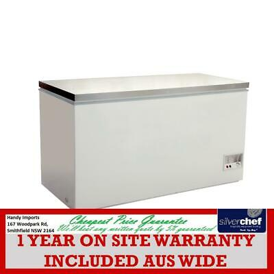 Fed Commercial Chest Freezer With Ss Lids Supermarket Fish Market 466L Bd466F