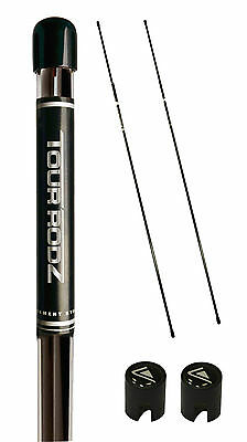 Longridge Golf Tour Rodz Golf Alignment Sticks 2PC + Connector 3 Colours