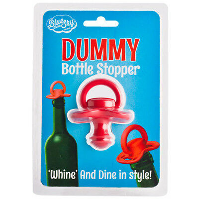 Pacifier Dummy Bottle Stopper Whine Funny Diplay Stop Wine Cork Stoppers Kitchen
