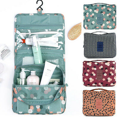 Expandable Travel Hanging Wash Shoes Bag Toiletry Organizer Women Make Up Pouch