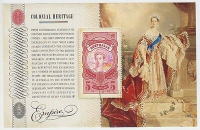 Australia 2010 Colonial Heritage $5 Queen Victoria Cto Minisheet (Jd5776)