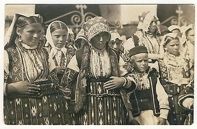 Mazedonien MÄDCHEN IN TRACHT / GIRLS IN COSTUME Macedonia * Foto-AK WW I 1918