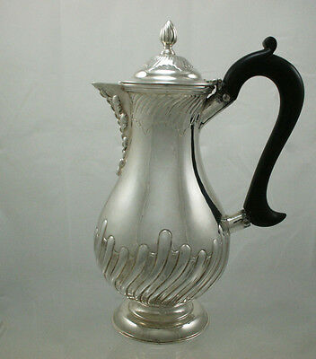 Antique Silver Water Jug London 1898 William Hutton & Sons Ltd