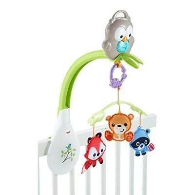 Fisher-Price Woodland Friends 3-in-1 Musical Mobile New