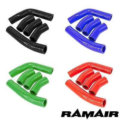 Ramair Silicone Coolant Hose Kit for Kawasaki GPZ900R Ninja 900 - Pipe Water