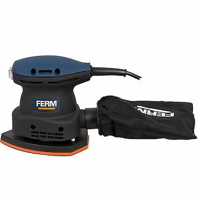 Ferm Power Detail Sander 220w With Case & Accessories