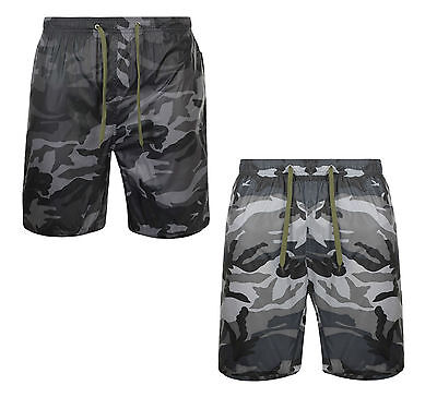 Mens Swimming Shorts Army Camouflage Swim Wear Bnwt