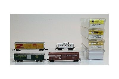 Z 1:220 4x Micro trains Mehano 135132 177052 136152 freight cars single door cab