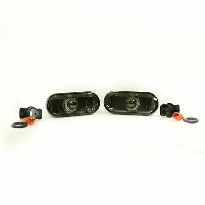 For VW Lupo 1999 - 2005 Crystal Smoked Side Repeaters Indicators 1 Pair