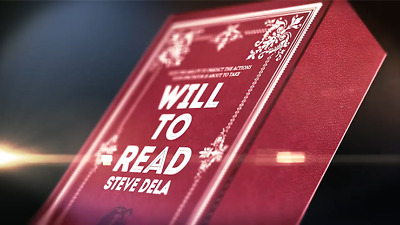 Will to Read (DVD and Gimmick) by Steve Dela - DVD