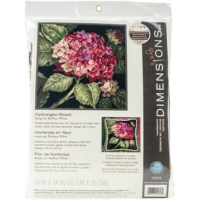 Hydrangea Bloom Needlepoint Kit