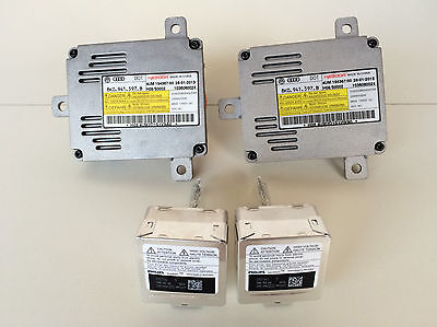 2x 11-17 Bentley Continental GT HID Xenon Headlight Ballast & Philips D3S Bulb
