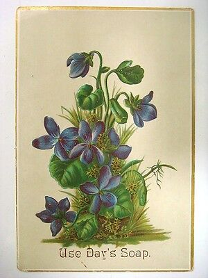 Embossed Trade Card - Use Day's Soap, Day & Frick, Philad's, Pa.