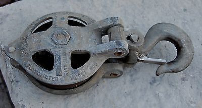 Vintage Western Power Products 5000 Lb Pulley Model 606