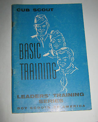 Boy Scouts of America BSA Cub Scout Basic Training Leader's Training Series 1958