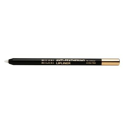 MILANI Anti-Feathering Lipliner Lip Liner TRANSPARENT 01 new in packet pencil