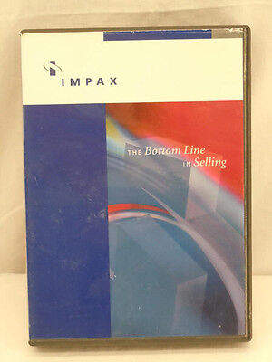 IMPAX The Bottom Line In Selling CD Education Course CORP-CD-0304