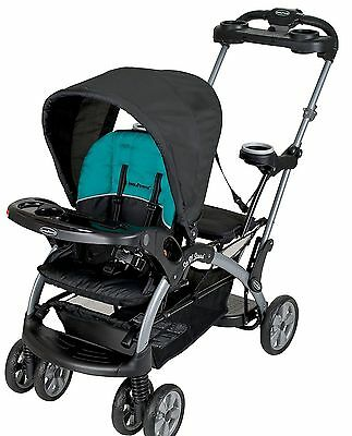 Baby Trend Sit N' Stand Ultra Twin Tandem Stroller Lagoon New